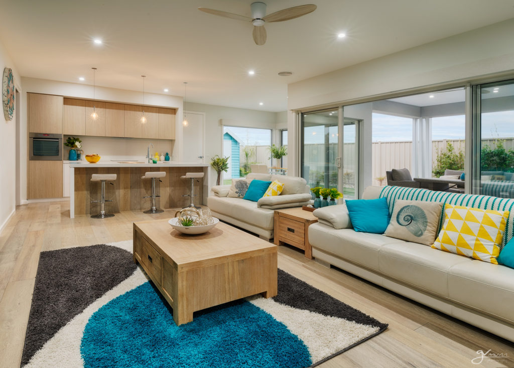 Living, Dining, Alfresco, and kitchen